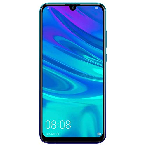 "Huawei P Smart 2019 (32GB, 3GB) 6.21"" FHD+ Display, Dual Camera, 3400 mAh Battery, 4G LTE GSM Dual SIM Global Unlocked (Pot-LX3) - International Version - No Warranty (Blue)"