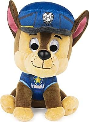 "GUND PAW Patrol: The Movie Chase Stuffed Animal Plush Dog, 6"" from Spin Master"