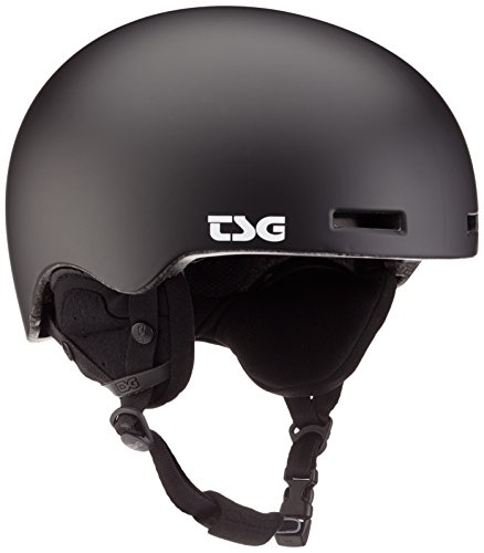 TSG Fly Solid Color II Helm, Satin Black, L/XL