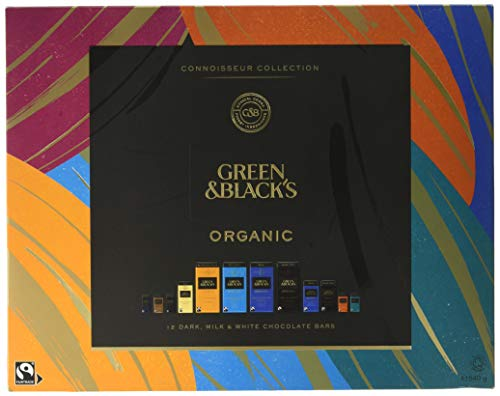Green & Black's Organic Connoisseur Collection Boxed Chocolates Gift 540g