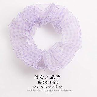 YJXUSHYQ Sweet Woman Korean Style Hair Tie Scrunchies Hairband Hair Rope Gum Girls Rope Headwear Hair Accessories (Color :...