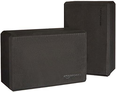 Amazon Basics Foam Yoga Blocks, Set of 2