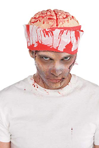 amscan 845557-55 Chapeau de Cerveau pour Halloween, 1 pièce