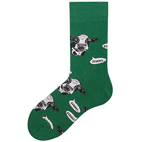 Pak sokken, herfstkousen schattig paar sokken voor mannen en vrouwen (10 paar), werksokken