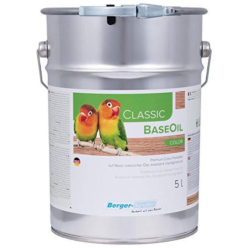 Berger Seidle Classic Base Oil   Aceite de parquet prémium con impregnación...