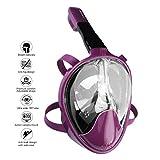 OCEVEN 180° Vollgesichts-Schnorchelmaske Easy Breath Anti-Fog/Anti-Leak Schnorchelmaske mit...