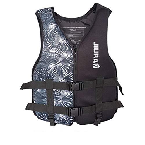 N\C Chaleco de Entrenamiento de natación para Adultos y cinturón Ajustable de Chaleco Salvavidas