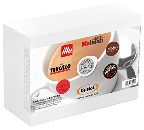 "\""ESE Gourmet\"" mit 36 ESE Pads / Espresso Pods / Cialde, 250 g"