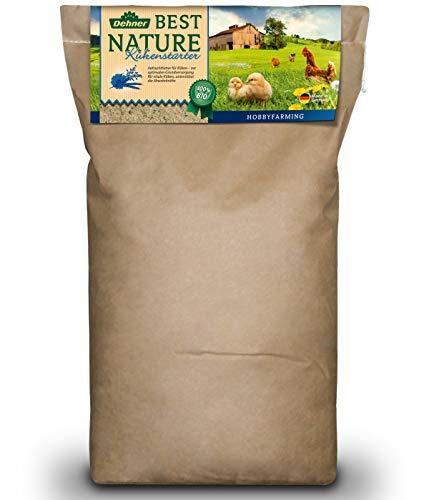 Dehner Best Nature Bio Küken- und Junggeflügelfutter, Aufzuchtfutter, 10 kg