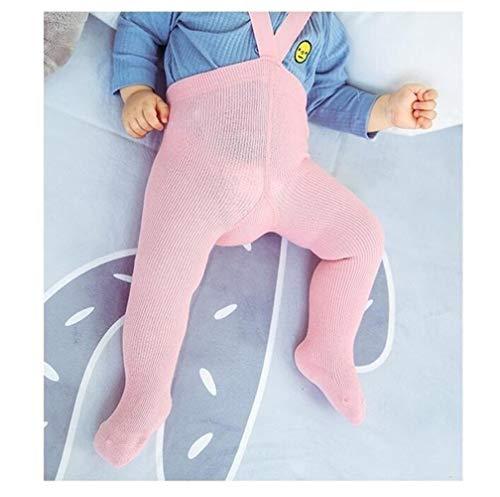 GLBS Toddler Enfants Mode Bébé Collants Garçon Loisirs Coton Nouveau-né Collants Bracelet Maintien Au Chaud Automne Hiver Fille Leggings for L'âge 0-2 Ans (Color : Pink Baby Tights, Kid Size : 24M)