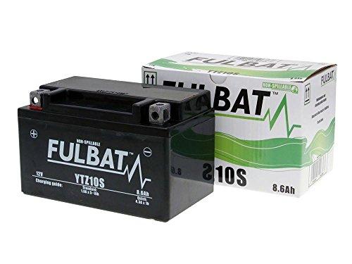 Batería FULBAT SLA YTZ10S 12V 8,6Ah 190A Largo: 150 x Ancho: 88 x Alto 93 (mm)
