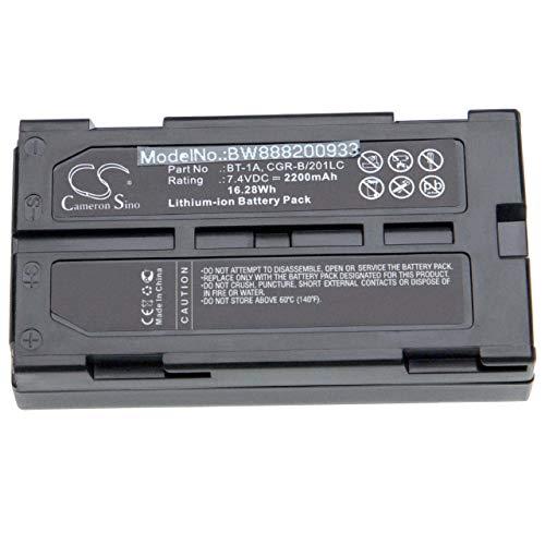 vhbw batería Compatible con Topcon GP-SX1, SX-1 localizador GPS, Receptor GPS (2200mAh, 7.4V, Li-Ion)