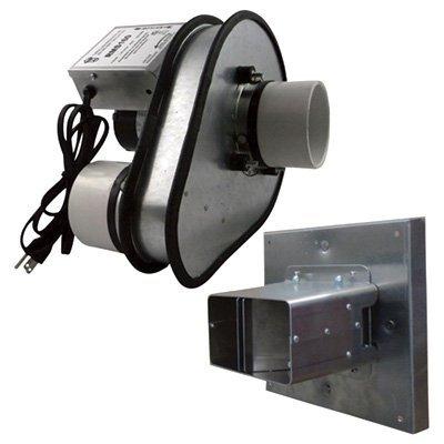 Tjernlund RMS160 sistema de mitigación de radón para pared lateral