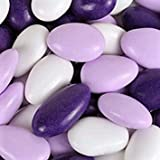 Jordan Almonds by Its Delish (Lavender, Purple and White, 3 lbs)