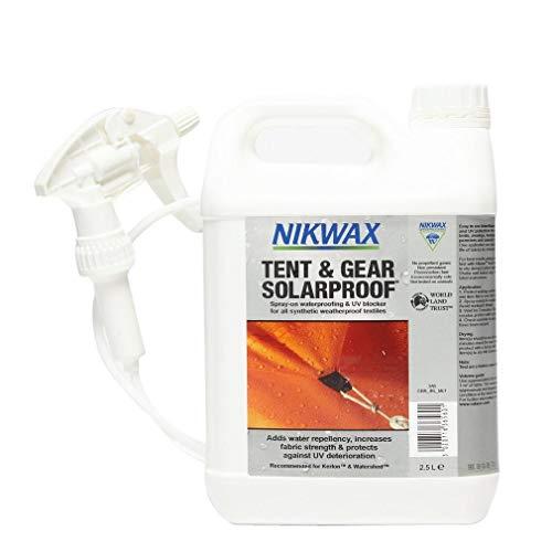 Nikwax Zelt- und Getriebe, solarsicher, 2,5 l, weiß, Einheitsgröße