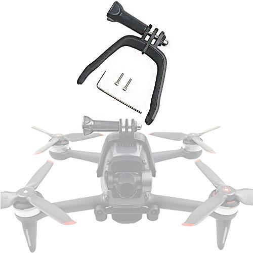 Honbobo Zubehör für DJI FPV Combo, FPV Drohnen-Erweiterungshalterung, Sportkamera-Halterung, Adapter, feste Halterung, Verbindung für GoPro Action-Kameras