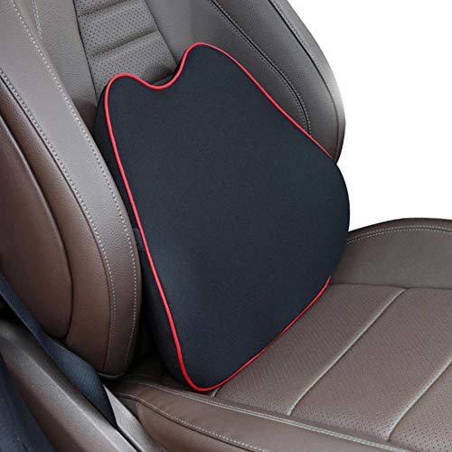 XQRYUB Car Seat Headrest Pillow Auto Memory Foam Car Neck Pillow Seat Head Support Lumbar Support for Office Chair Cushion