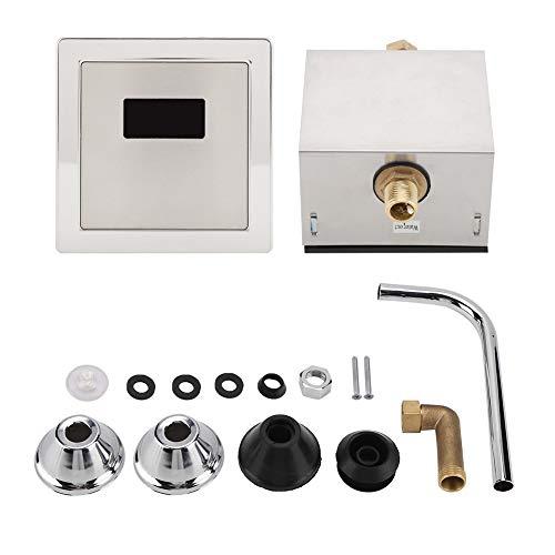 Garosa Urinal Sensor Flusher Automatischer Hocker Spülen Freisprecheinrichtung Urinal Infrarot Induktion für Bad Home Hotel Wc