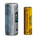 Voopoo Drag X Plus 100W Pod Mod + Vapcell INR 21700 4000mAh 1本セット (Prussian Blue)