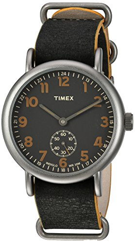 Timex Men's TW2P86700 Weekender 40 Mini-Sweep...