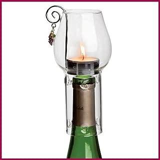 Wine Chimney Tea Candle Set