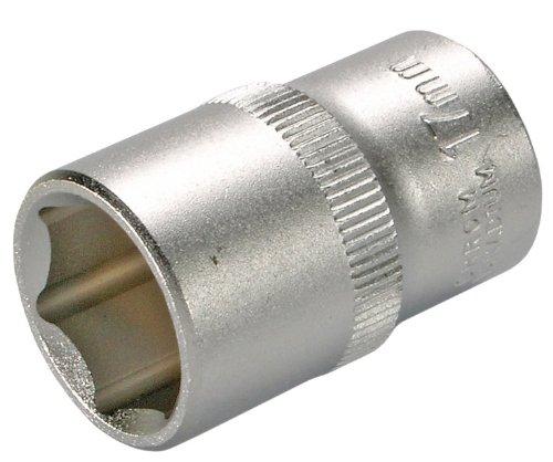 SW-Stahl 05409L dopsleutelinzet, 6,3 mm (1/4 inch) aandrijving, sleutelbreedte 10 mm, zeskant, van chroom-vanadium