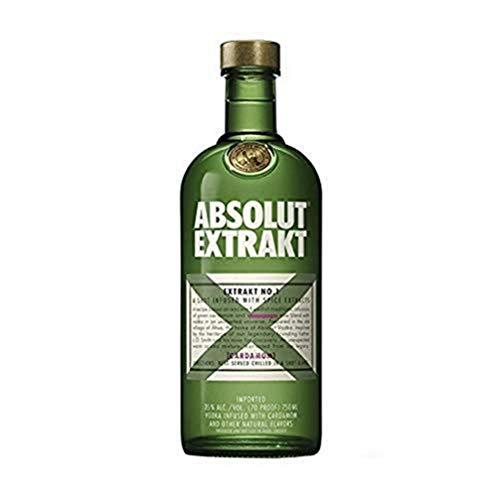ABSOLUT EXTRAKT – Schwedischer Vodka – Edler Kräuterschnaps für unvergessliche Shot Erlebnisse – 1 x 0,7L