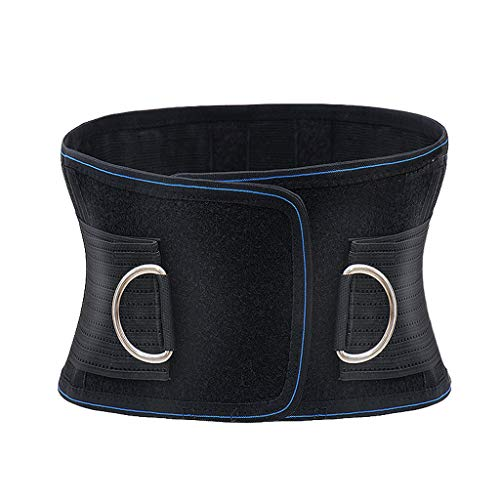 Marico Nahum Lordosenstützgürtel für Damen und Männer - Verstellbare Hüftgurte für Lschias, Ergonomisches Design Atmungsaktive Gurte Selbsterhitzung Sportarbeit Stahlplattenkissen Gurtschutz