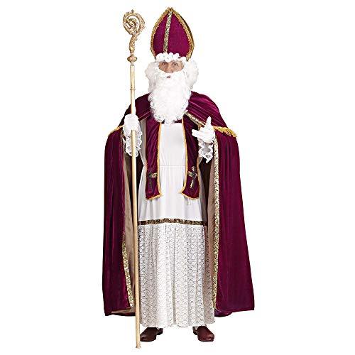 Widmann 1550P Erwachsenenkostüm Bischof, mens, One Size