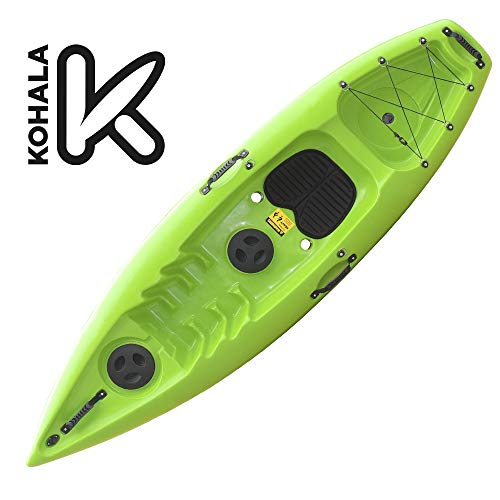 Devessport - Kayak Purity 3 | Kayak para 1 Persona Tipo sito on Top - autovaciable | Fondo Plano | Peso máximo 105 kg
