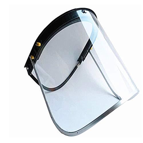 SSCYHT met frame-lassen werkkleding lichte veiligheid transparante oogbescherming opklapbaar vlamvertragend masker gezichtsbescherming