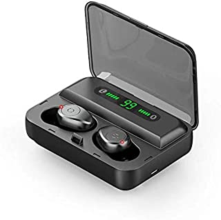 Auriculares inalámbricos Comfort Design 5.0 Verdaderos auriculares inalámbricos Bluetooth IPX7 a prueba de agua, auricular...