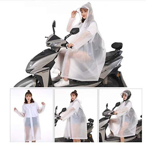 GYYFF Impermeable eléctrico para Bicicleta, Poncho para Motocicleta Impermeable, Scooter, Ropa para...