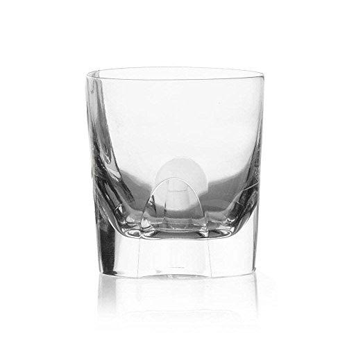 Cristal de Sèvres focale Set di Bicchieri Whisky, Vetro, 10x 10x 10cm, 2Pezzi