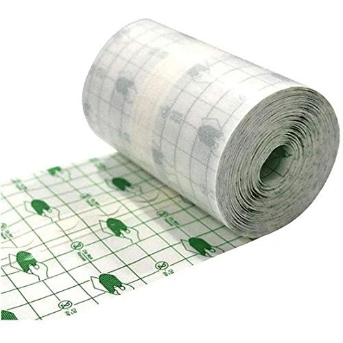 YepYes Wasserdicht Transparent Film Roll 15cmx10m Klebeband Medizinischer Wundverband Fixer Gips Stretch Fixation Tape Tattoo Nachsorge Verband Anti-allergie-selbst Paste