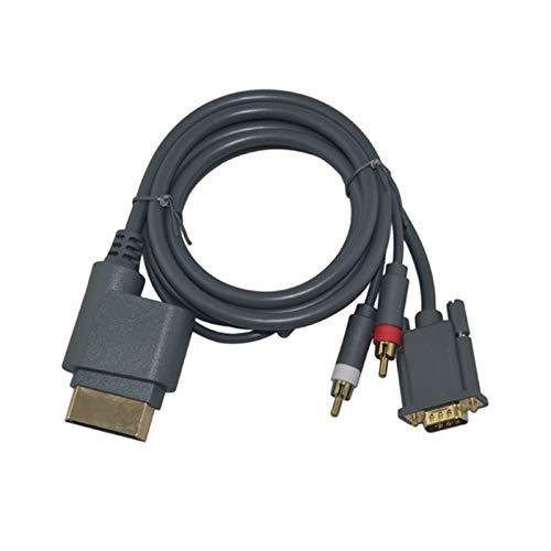 YJLLOVE YANGJIAOLIAN Conector de Cable AV HD VGA con Salida de Salida...