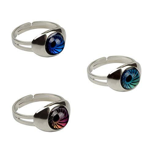 Rimobul Authentic Adjustable Mood Ring,Magic Eyes...