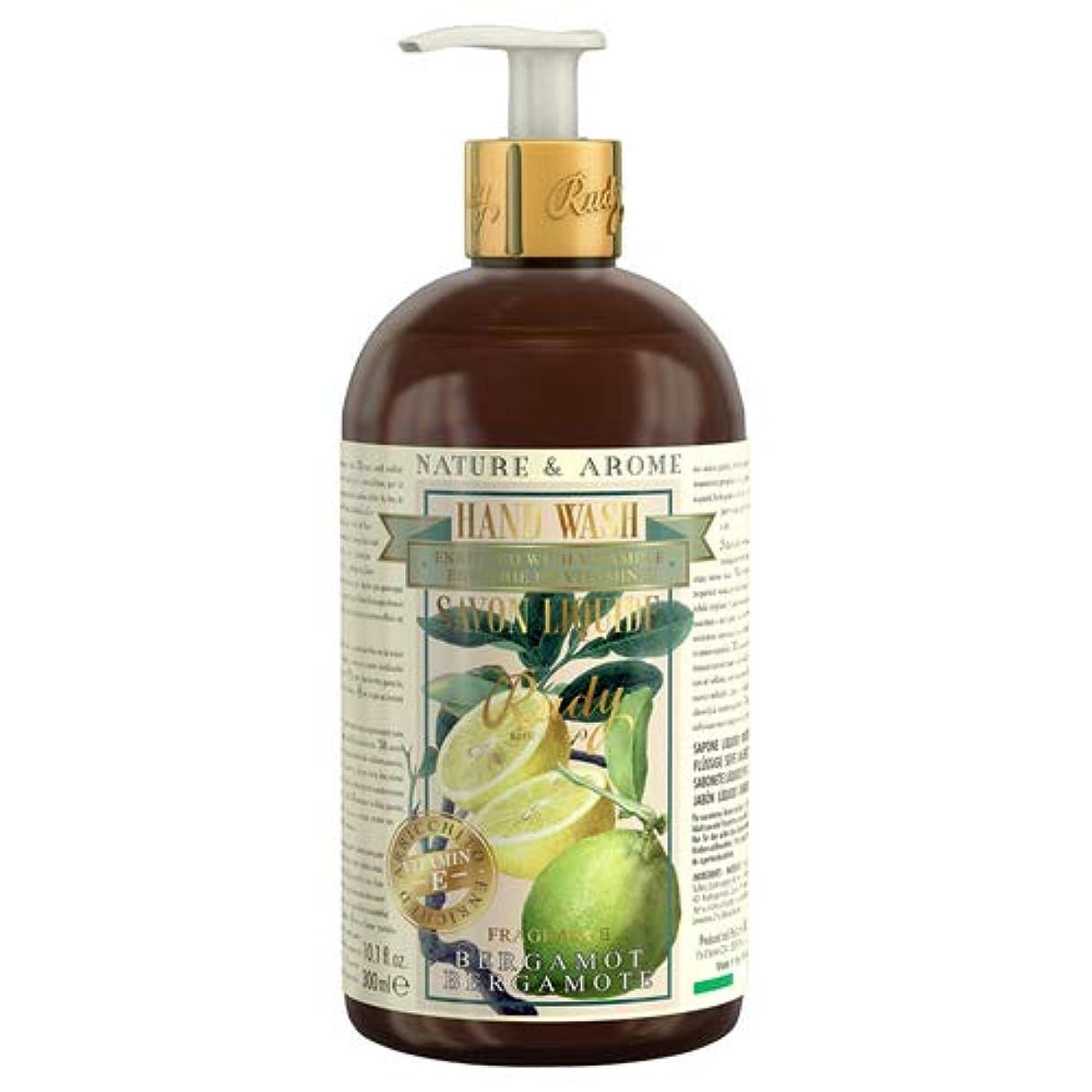 アクセスできない価値断言するRUDY Nature&Arome Apothecary ネイチャーアロマ アポセカリー Hand Wash ハンドウォッシュ(ボディソープ) Bergamot ベルガモット