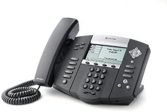 $78 » Polycom SoundPoint IP 550 PoE Phone 2200-12550-025 (Certified Refurbished)