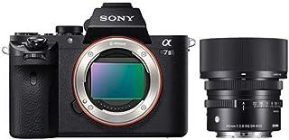 ソニー SONY ミラーレス一眼 α7 II ボディ ILCE-7M2 + SIGMA 45mm F2.8 DG DN | Contemporary C019 | Sony E(FE)マウント | Full-Size/Large-Format ...