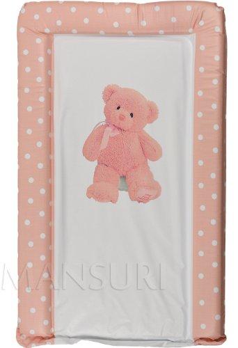 Tapis à langer bébé rembourré Luxe Confort My First Teddy