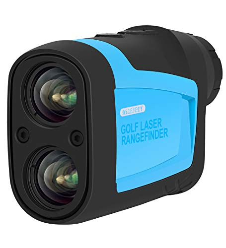 MiLESEEY Golf Laser Rangefinder-Laser Range Finder with Slop,Golf Trajectory,Flag-Lock(Scanning);Measurement for Speed,Angle,Distance-656Yard 6X Binoculars for Hunting