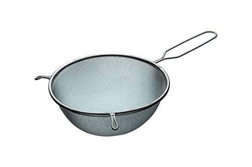 Kitchen Craft - Colador con gancho de Estañado, de 20cm