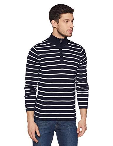 Celio Men's Sweater (8904231561618_Navy_XL)