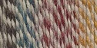 Red Beacon Pack of 3 skeins Lion Brand Yarn 640-607 Wool-Ease Thick /& Quick