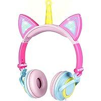 GBD Unicorn Kids Cat Ear Headphones