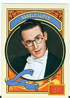 Harold Lloyd trading card (Actor Silent Film Era) 2014 Golden Age #30