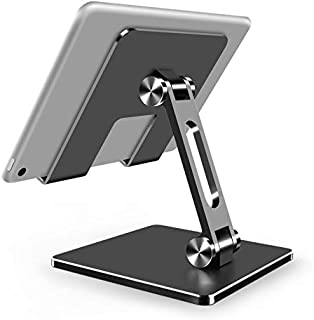 GreenDesert Adjustable phone stand, tablet stand, foldable tablet stand, stand base suitable for desktop, and iPad, iPhon...