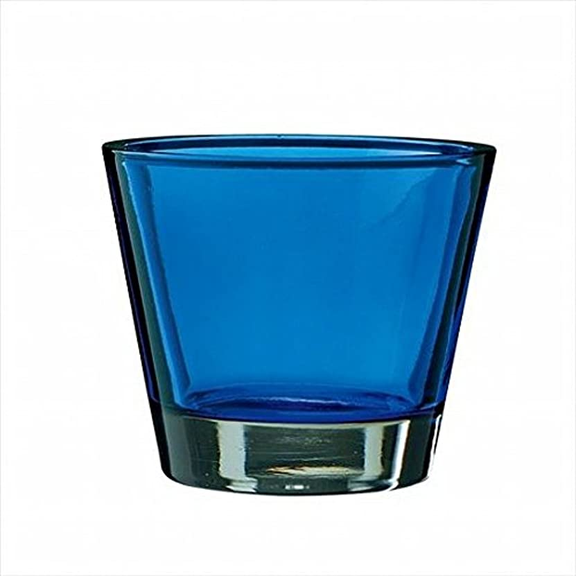代替祈り堀kameyama candle(カメヤマキャンドル) カラリス 「 ブルー 」 キャンドル 82x82x70mm (J2540000B)