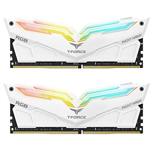 Team Group Night Hawk RGB 16 GB DDR4 3200 MHz Speichermodul (16 GB, 2 x 8 GB, DDR4, 3200 MHz, 288-pin DIMM)